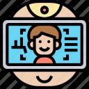 image, recognition, facial, scanning, verification