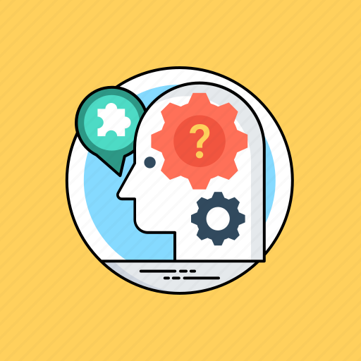 artificial intelligence, intelligence management, machine intelligence, machine learning, mind mapping icon
