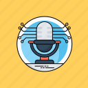 microphone, speech recognition, text to speech, voice control, voice recognition icon