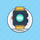 android wear smartwatch, smartwatch, wearable device, wearable tech, wristwatch icon