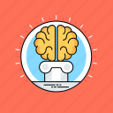 brain intelligence, human brain, intelligence management, knowledge reasoning, knowledge representation icon