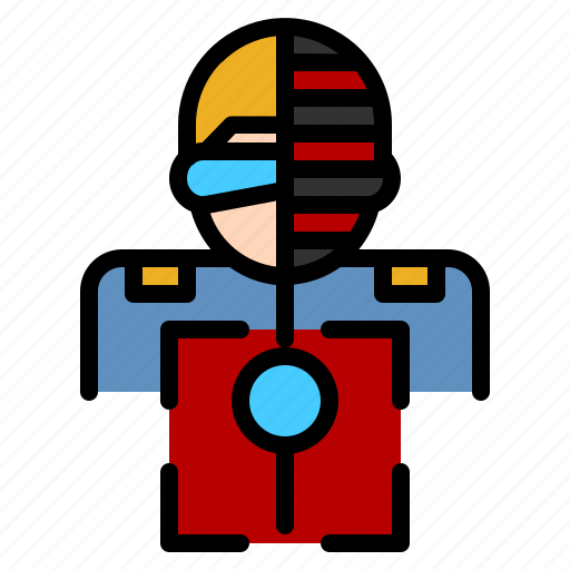 Detective, biometric, scanning, recognition, artificial intelligence icon - Download on Iconfinder
