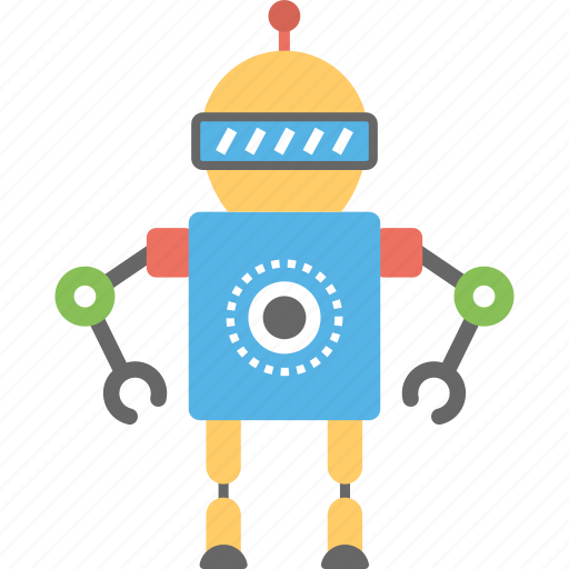 android, artificial intelligence, bionic man, humanoid, robot man icon