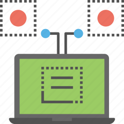 computer sciences, cybernetics, information technology, internet technology, machine learning icon