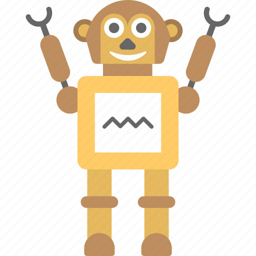 android, artificial intelligence, bionic man, mechanical person, robot icon