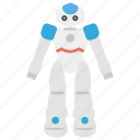 bionic human, robotics, robot, advanced technology, artificial intelligence, robot technology icon