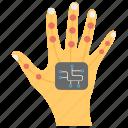 mechanical hand, robot helping hand, robot technology, robotic hand, technological hand icon