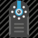 cyber eye, cyber monitoring, cyber security concept, hidden camera, mechanical eye, mini cam icon