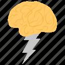 brain energy, brain working, brainstorming, mental power, mind power icon