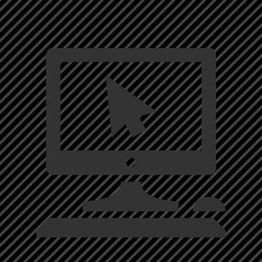 computer, it, monitor, pc icon