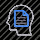 ai, document, file, head, mind