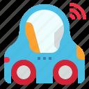 ai, car, driverless, logistics, smart, transportation, vehicle icon