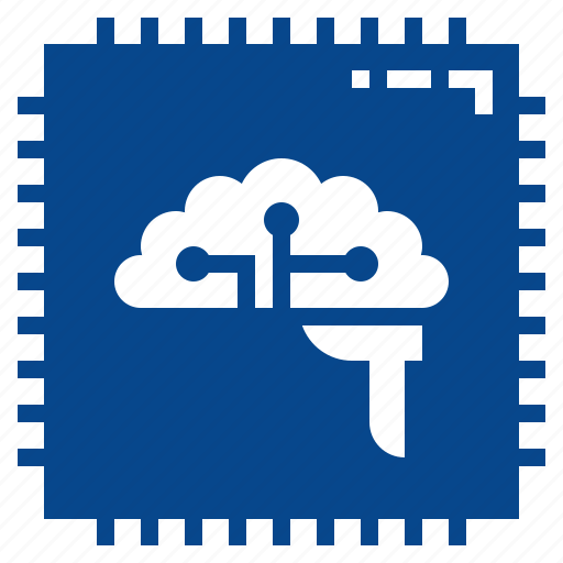 board, cpu, die, logic, main, performance icon