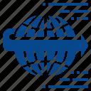 forward, future, futuristic, moving, world icon