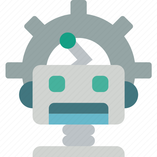 artificial, bot, intelligence, machine, options, robot icon