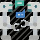 artificial, bot, conversation, intelligence, machine, robot