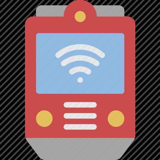 artificial, auto, intelligence, machine, robot, train icon