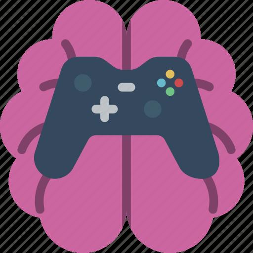 artificial, gaming, intelligence, machine, robot icon