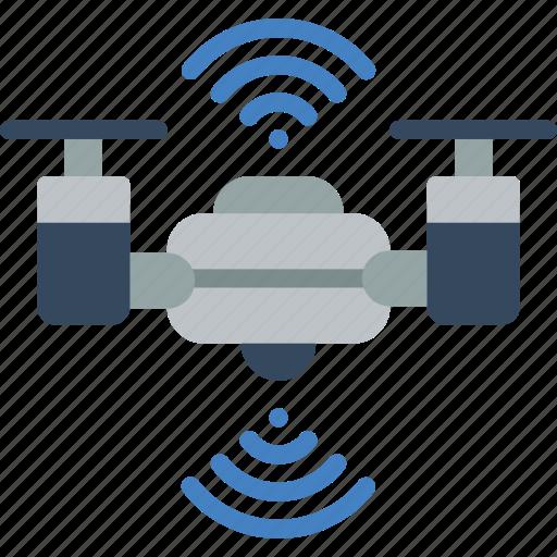 artificial, auto, drone, intelligence, machine, robot icon