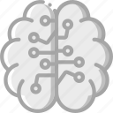 artificial, brain, intelligence, machine, robot icon