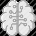 artificial, brain, intelligence, machine, robot