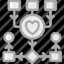 algorithm, artificial, health, intelligence, machine, robot icon