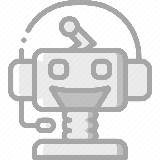 artificial, bot, chat, intelligence, machine, robot icon