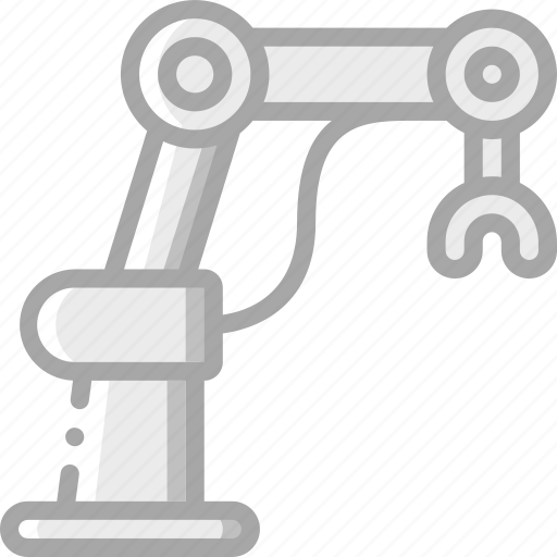 Arm, artificial, intelligence, machine, mechanical, robot icon - Download on Iconfinder