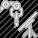 artificial, creative, intelligence, machine, robot icon