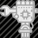 artificial, bot, intelligence, machine, repair, robot