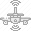 aeroplane, artificial, auto, intelligence, machine, robot icon