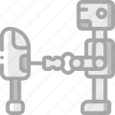 artificial, bot, intelligence, machine, repairing, robot icon
