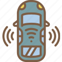 artificial, car, driving, intelligence, machine, robot, self icon