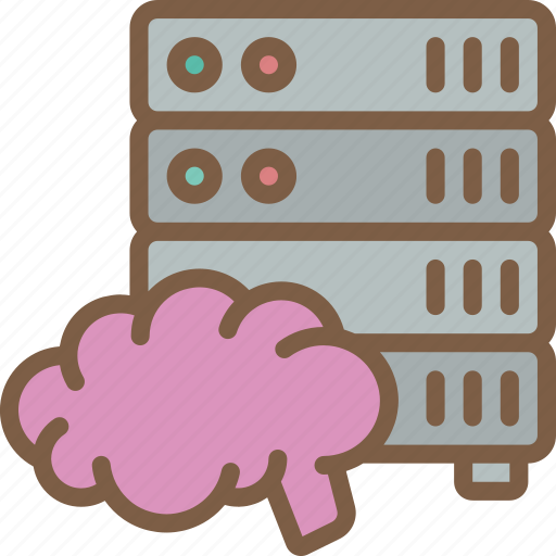 artificial, data, intelligence, intelligent, machine, robot icon