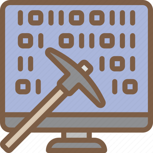 artificial, data, intelligence, machine, mining, robot icon