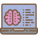 artificial, brain, coding, intelligence, machine, robot icon
