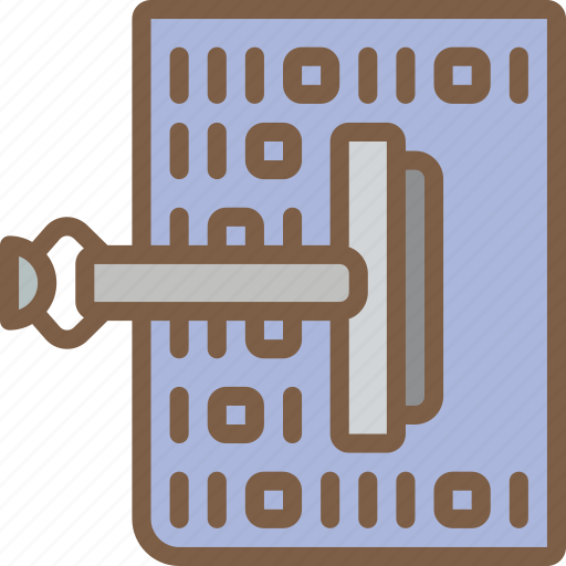 artificial, cleansing, data, intelligence, machine, robot icon