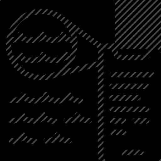artificial, detection, handwriting, intelligence, machine, robot icon