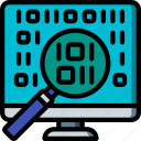 analysis, artificial, data, intelligence, machine, robot icon