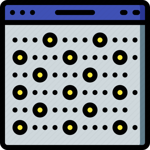 artificial, intelligence, machine, pattern, recognition, robot icon