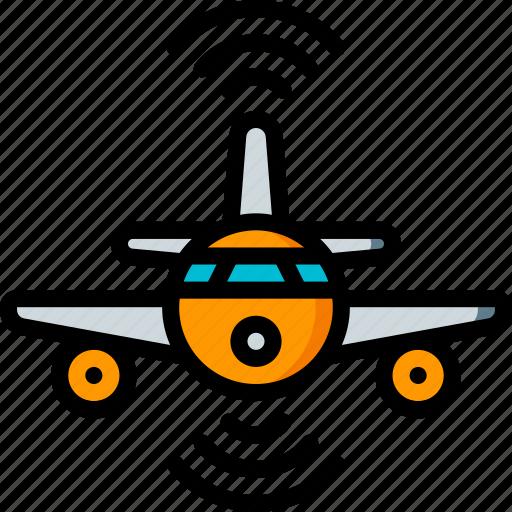 aeroplane, artificial, auto, intelligence, machine, robot icon