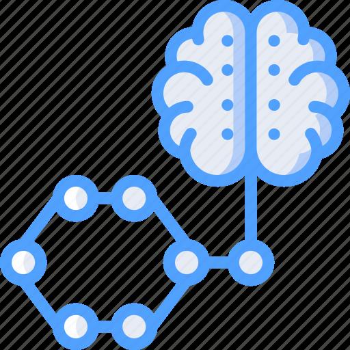 algorith, artificial, brain, intelligence, machine, robot icon