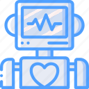heartrate, intelligence, bot, robot, artificial, machine