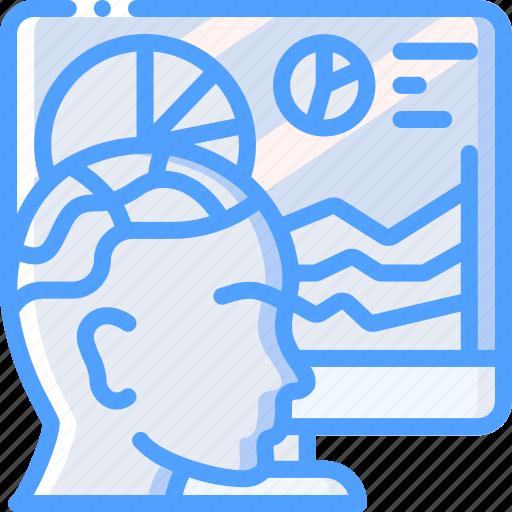 analysis, artificial, data, intelligence, machine, robot icon