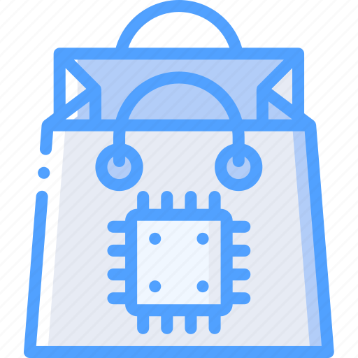 artificial, intelligence, machine, robot, shopping, smart icon