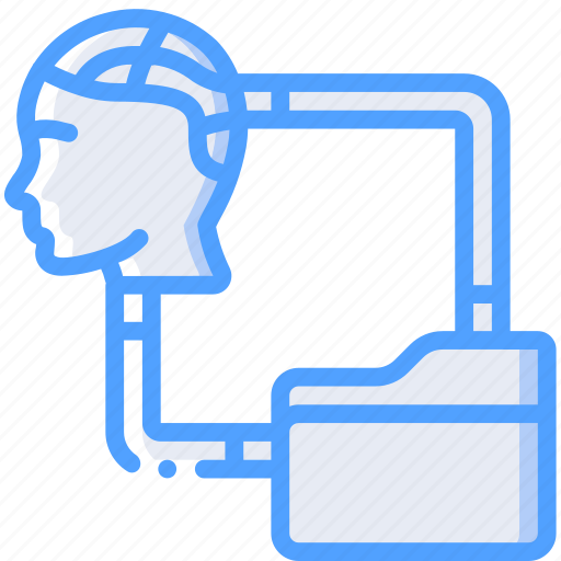 android, artificial, file, intelligence, machine, robot, transfer icon
