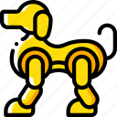 artificial, bot, dog, intelligence, machine, robot icon