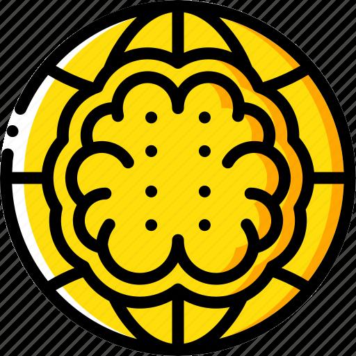 artificial, brain, intelligence, machine, network, robot icon