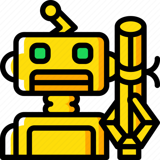 Artificial, intelligence, learning, machine, robot icon - Download on Iconfinder