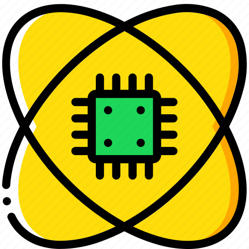 artificial, intelligence, machine, robot, science icon